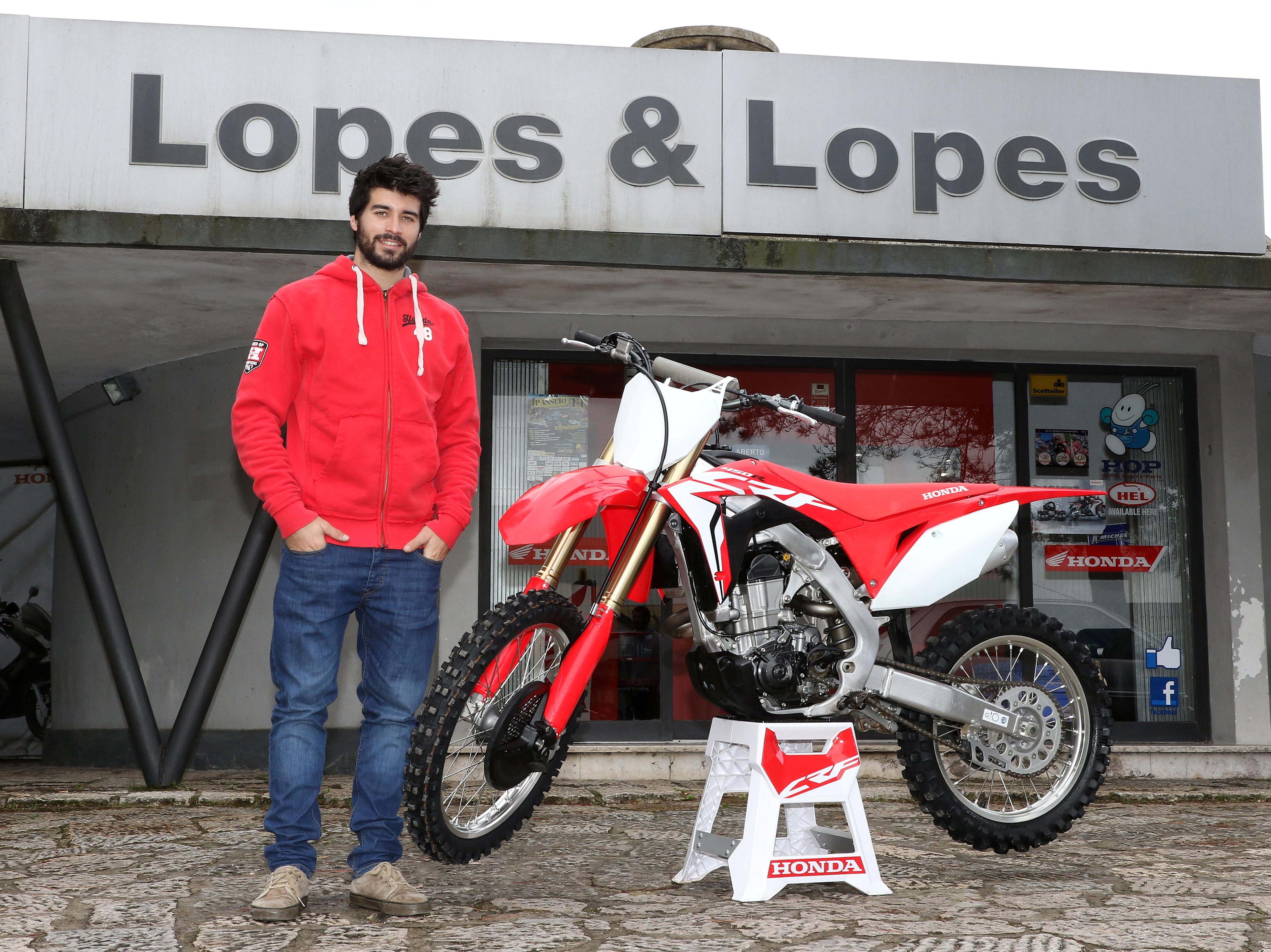 Luís Oliveira de regresso à Honda