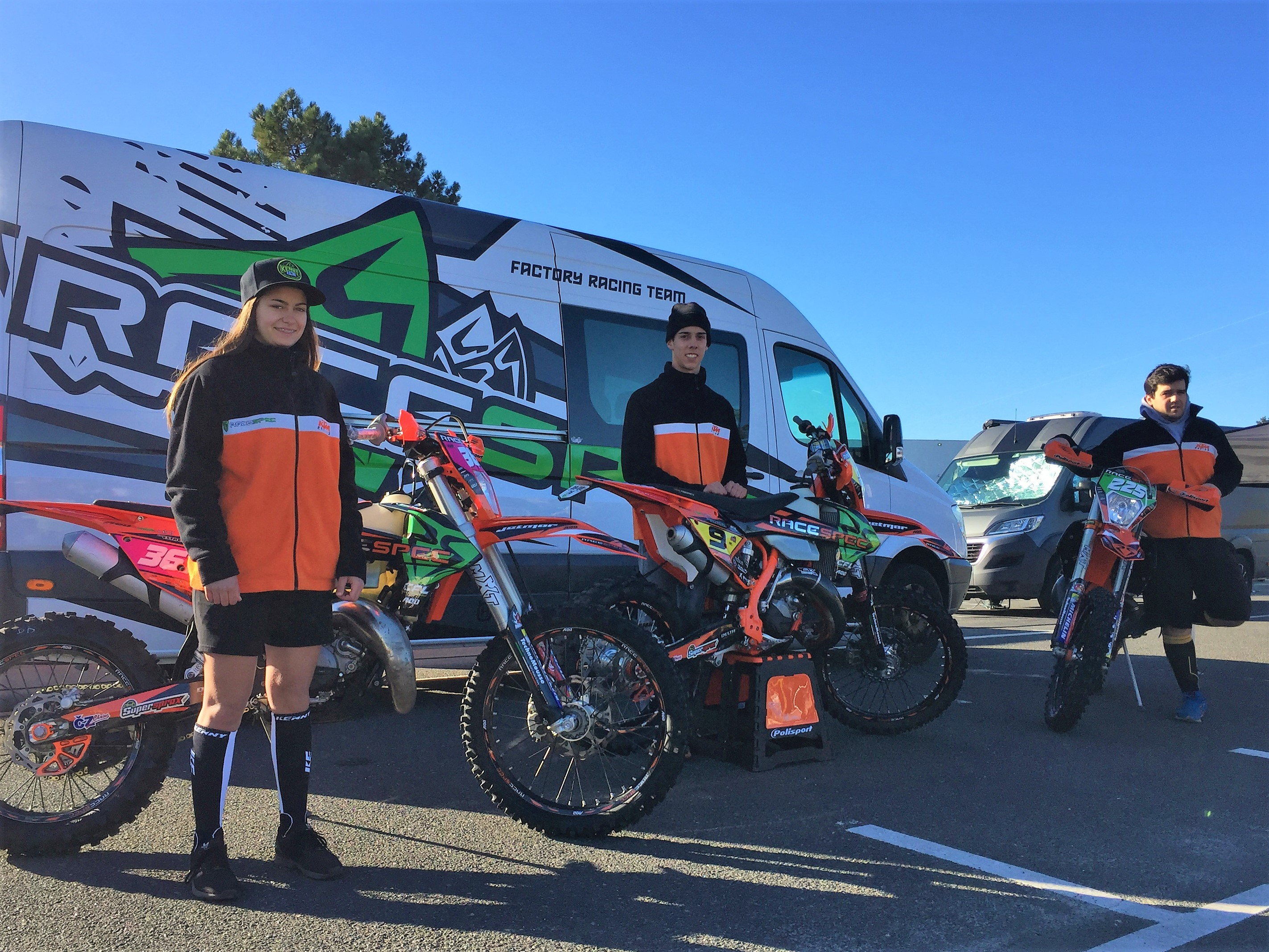 RACESPEC|KTM|CFL no arranque do Campeonato Nacional de Enduro 2018