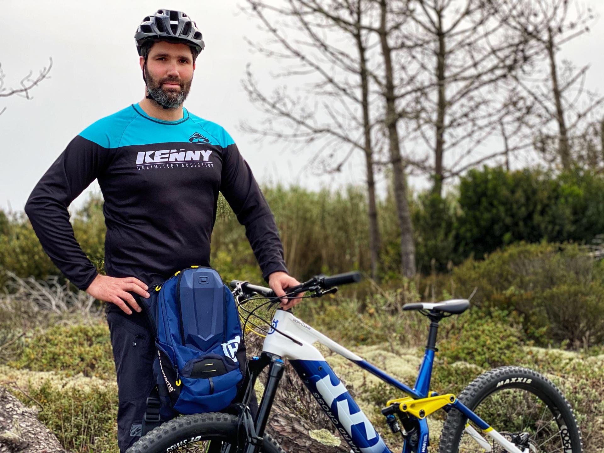 João Vigário no World E-Bike Series 2021