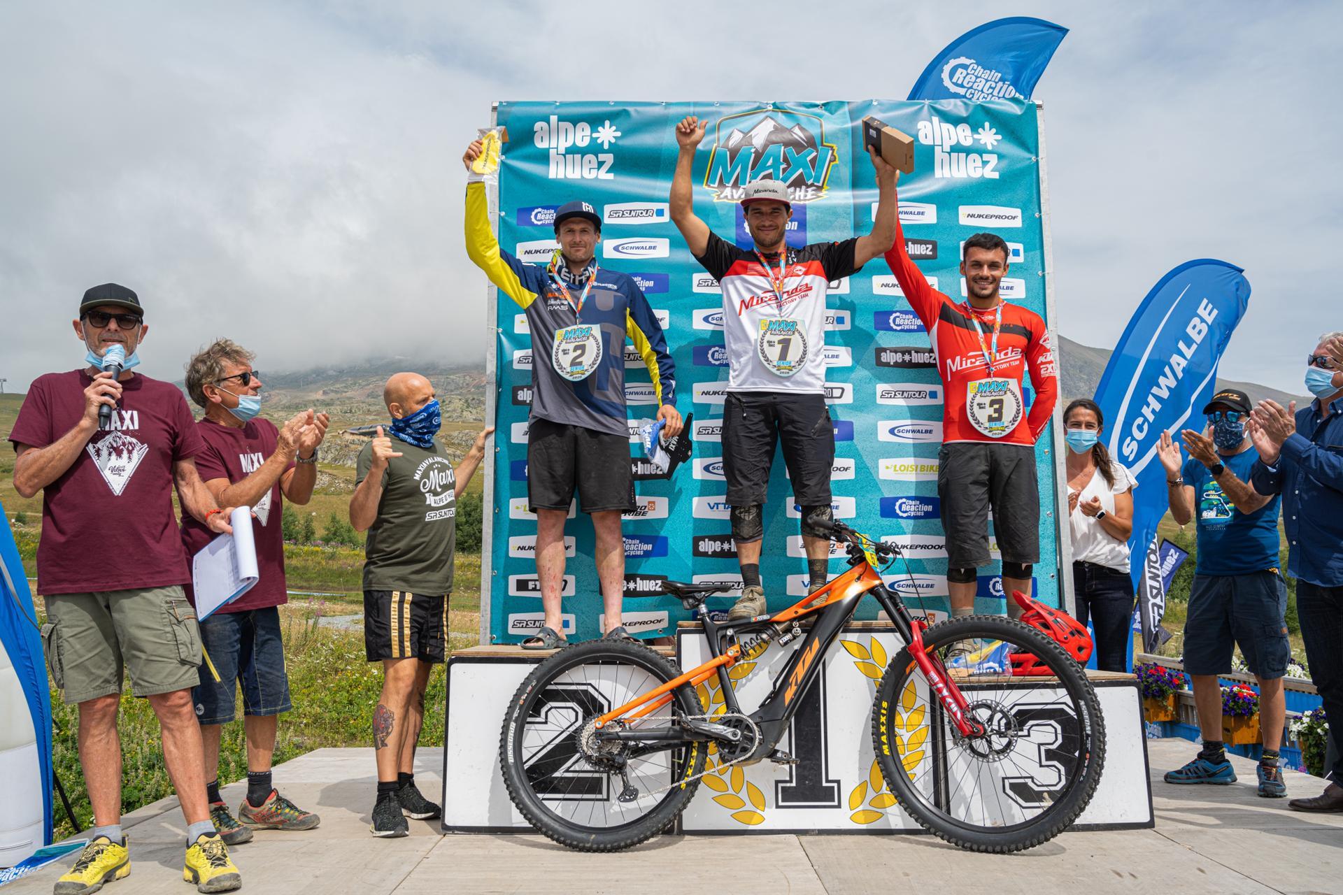 Miranda Factory Team volta a vencer em Alpe D´Huez