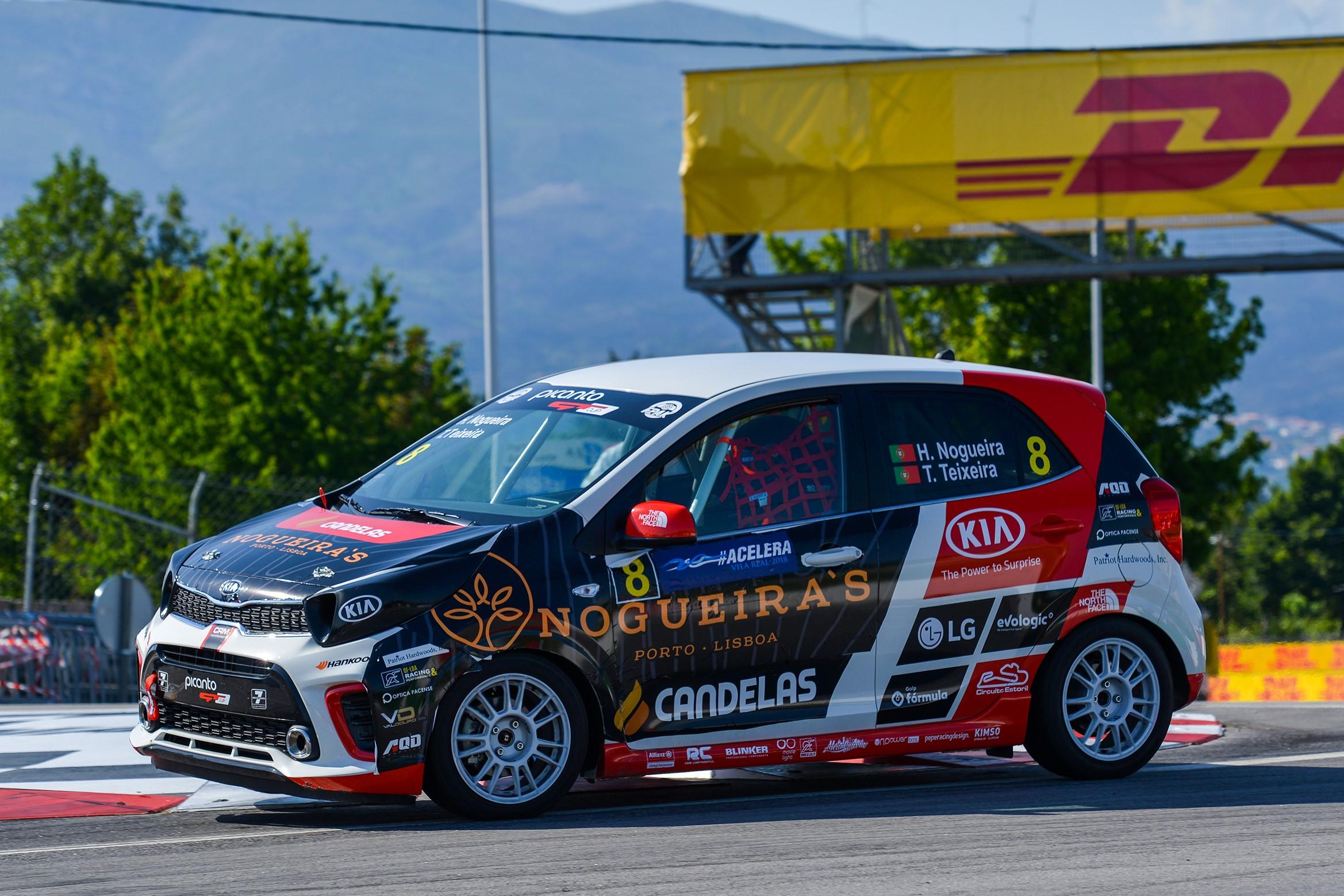 Henrique Nogueira vence classe Júnior no KIA PICANTO GT CUP