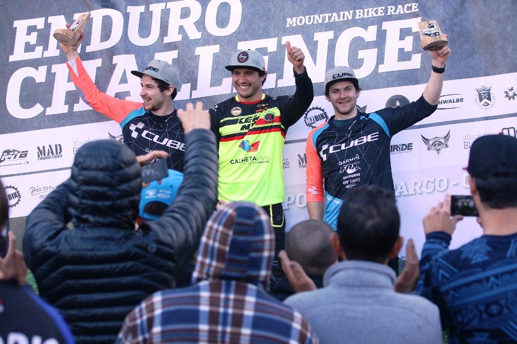 Vitória para Pombo - Enduro Challenge Madeira