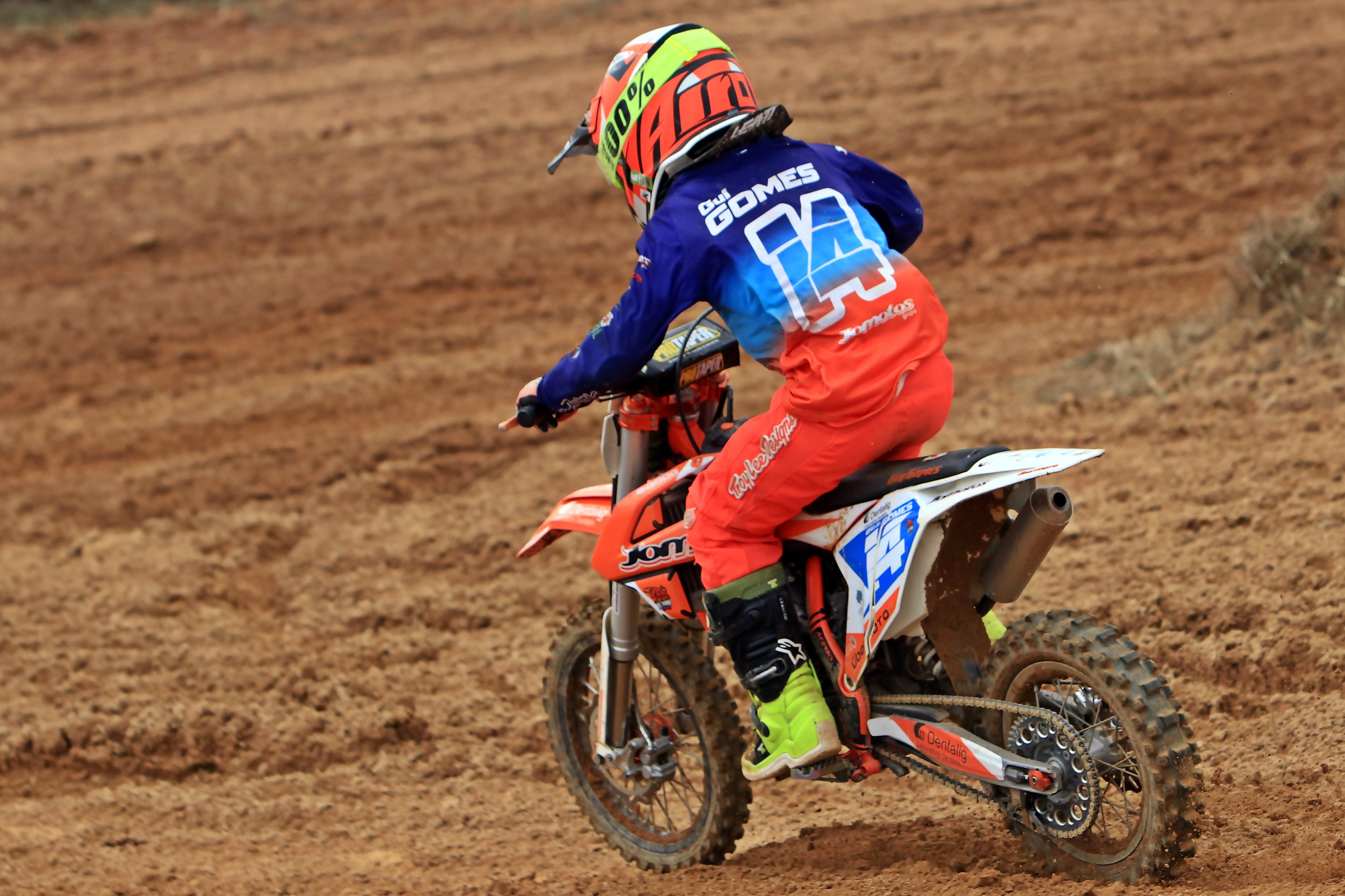 Guilherme Gomes aposta no Nacional de Motocross 65cc